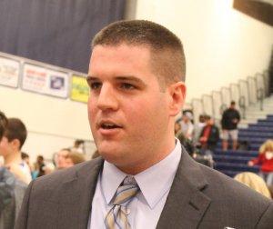 LHS coach Nate Stanton