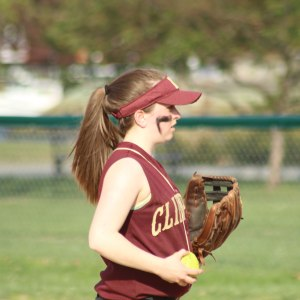 Molly Kelley pitched the 7th inning