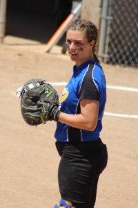 Catcher Hailey Perry