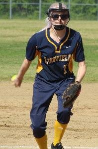 LHS pitcher Sadie Oliver