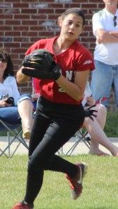 AHS shortstop Maddie Napoli