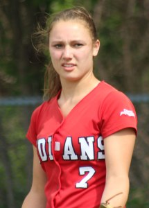 Hayley Catania - 2 RBI & complete-game win