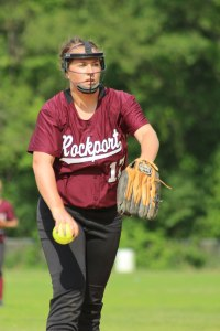 Jess Collins pitched for Rockport