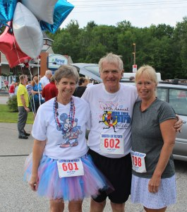Marsha, Bill, and Sheila