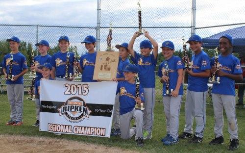 Brookfield (CT) - 2015 New England 10U Regional Champions