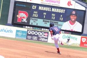 Manuel runs the bases