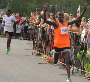 Glarius Rop nips Mengistu Nebsi for the YK 10-mile title