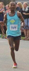 Abu Kebede Diriba - 3rd in 10-mil3