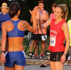 Laura Paulsen and Katie Misurca afterwards