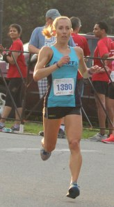 Meagan Nedlo - 3rd woman in 10-mile