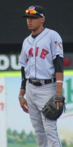 Second baseman Harold Castro