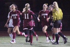 Algonquin celebrates goal