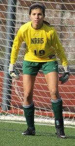 Goalkeeper Kat Hassapis