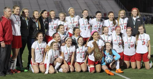 2015 New Hampshire Division 1 girls soccer champions (Pinkerton Academy)