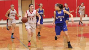 Megan Reid defended by Cayla Durkee