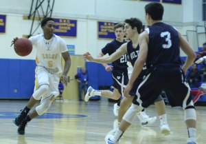 The Wilton defense toughened in the second half