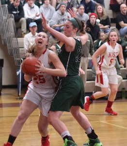 Lily Polakiewicz heavily defended