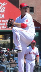 Portland starter Aaron Wilkerson pitched a 2-hit shutout in his six innings of work
