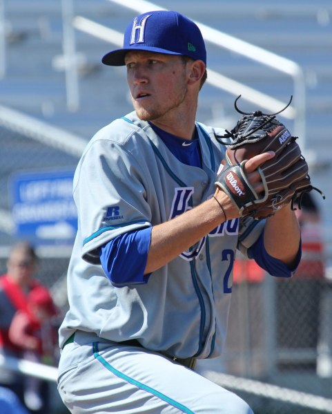 Hartford's Kyle Freeland (top Colorado pick in 2014) picked up a win versus Portland pitching seven solid innings