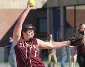 Pitcher Stephanie Gleason