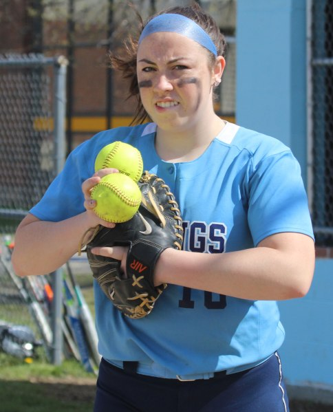 Senior Julia Hartman had three hits, scored three runs, and homered in Triton's win over Newburyport