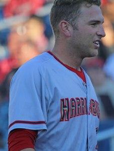 Harrisburg catcher Spencer Kieboom