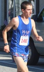 Dan Allara of Hamilton-Wenham finished 17th