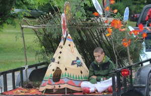 Camp Wigwam float