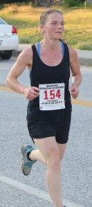 Sarah Keener (Waterford) was the first female finisher.