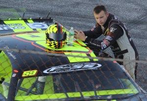 Reid Lanpher before the race