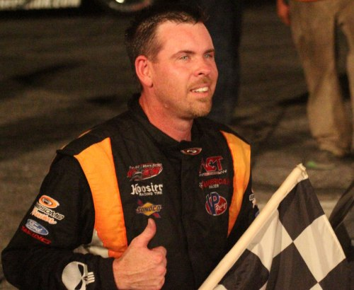 Wayne Helliwell got the checkered flag after winning the 43rd OPS 250