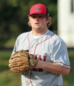 Central Maine starter Brandon Varney