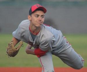 CM pitcher Alex Biron