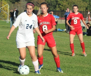 Elizabeth Lindholm (24), Ashley Pettet (8), and Michaela Halloran (9)