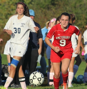 Meredith Kennedy (14) and Michaela Halloran (9)