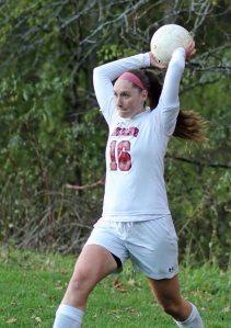 Mikayla Porcaro turned a throw-in into a goal