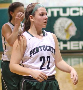 Angelina Yacubacci had nine points in Pentucket's third quarter