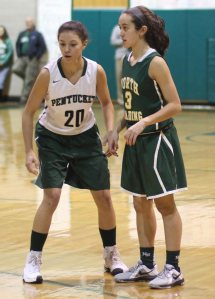 Casey Hunt (20) and Ali Grasso (3)