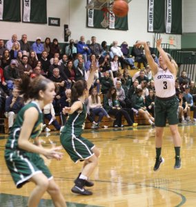 Colleen Jameson made two 3's for Pentucket