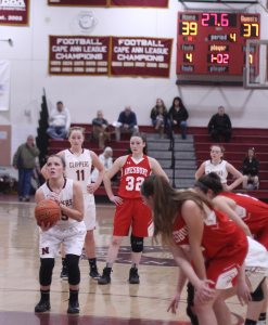 Krysta Padellaro at the line