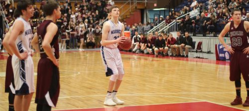It wasn't until Cooper Wirkala made two free throws with 2.3 seconds left that Oceanside had a win assured over Nokomis