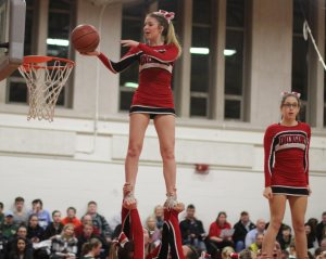 Amesbury cheerleaders show how it's done